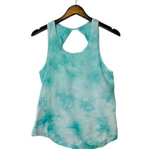 Calvin Klein Work Out Tie Dye Tank Top